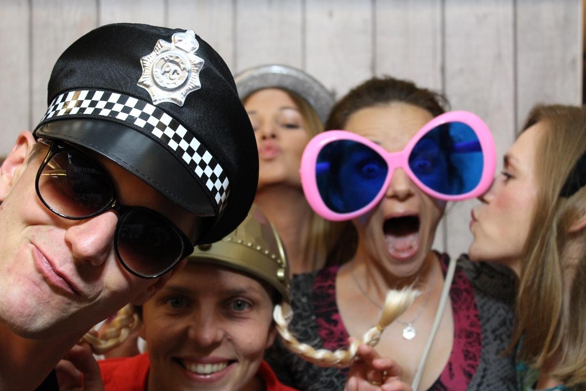 zdjęcie z fotobudki z imprezy