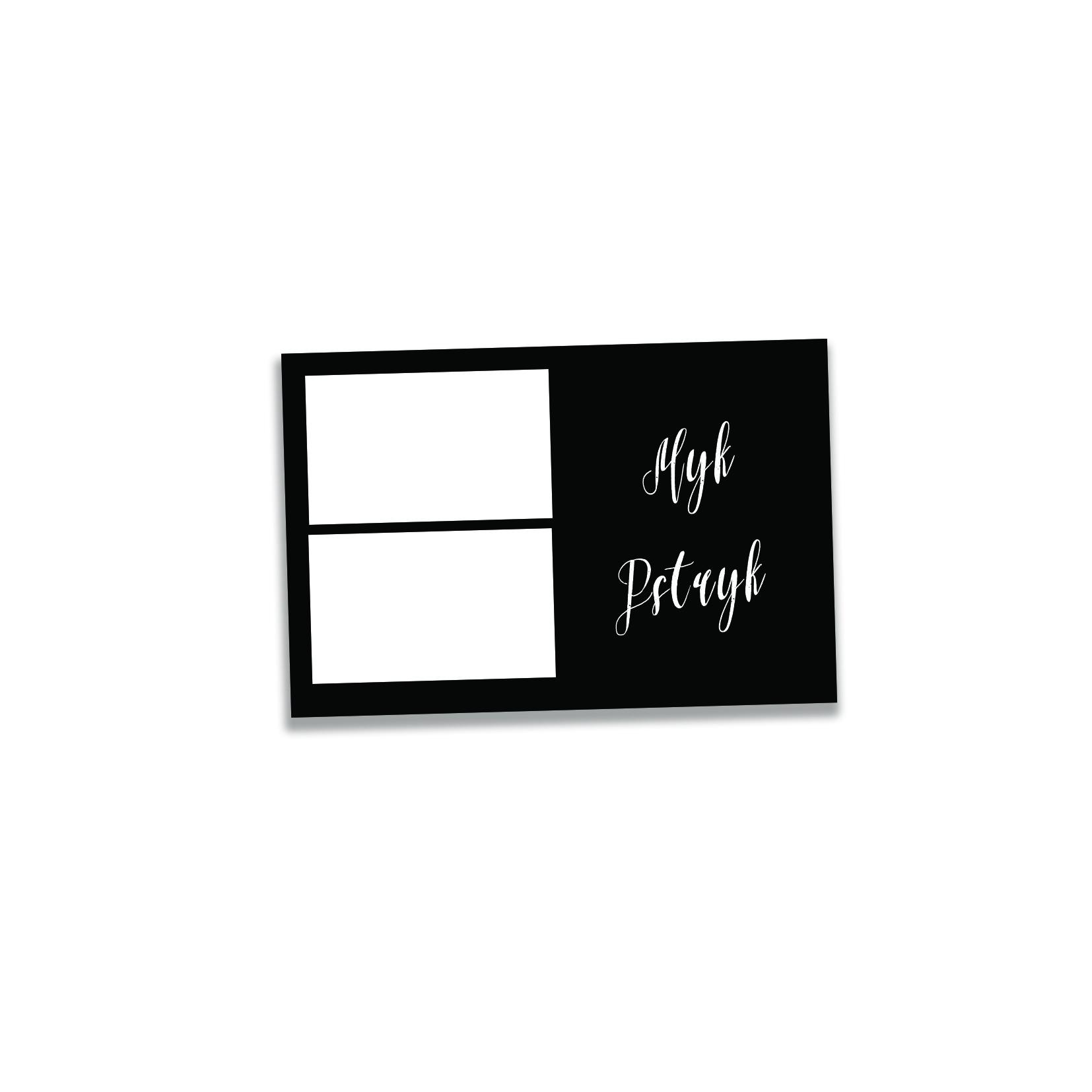 ramka wydruku z fotobudki