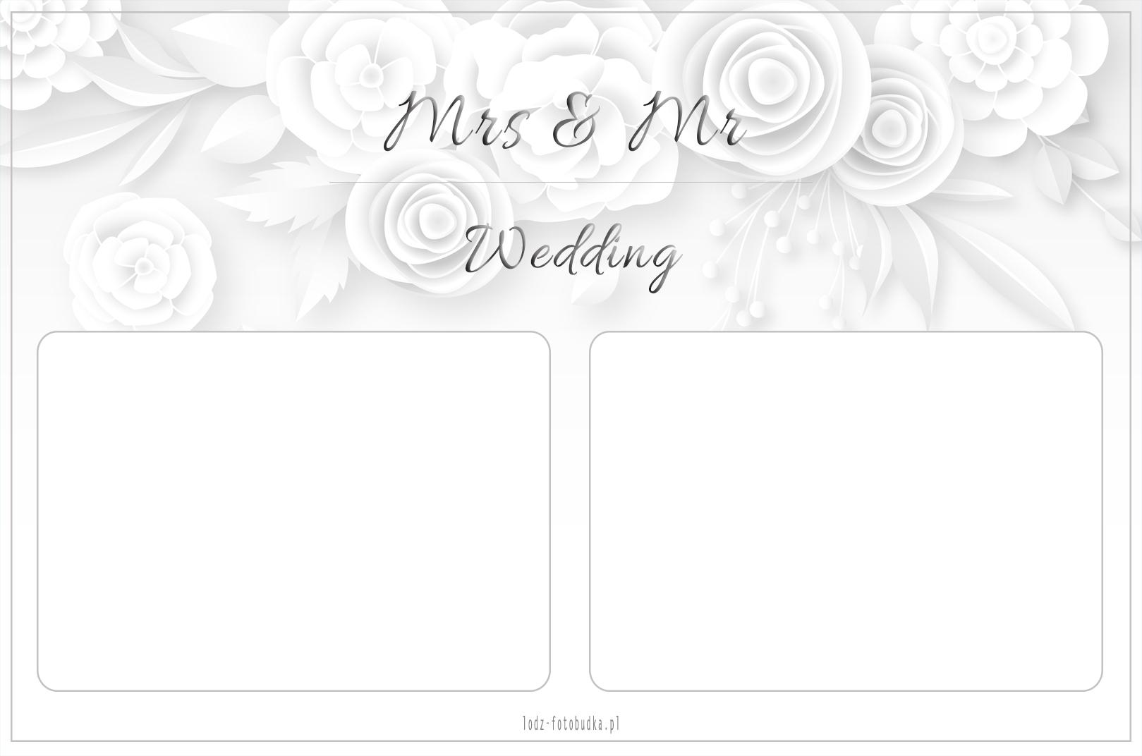 wydruk z fotobudki na wesele