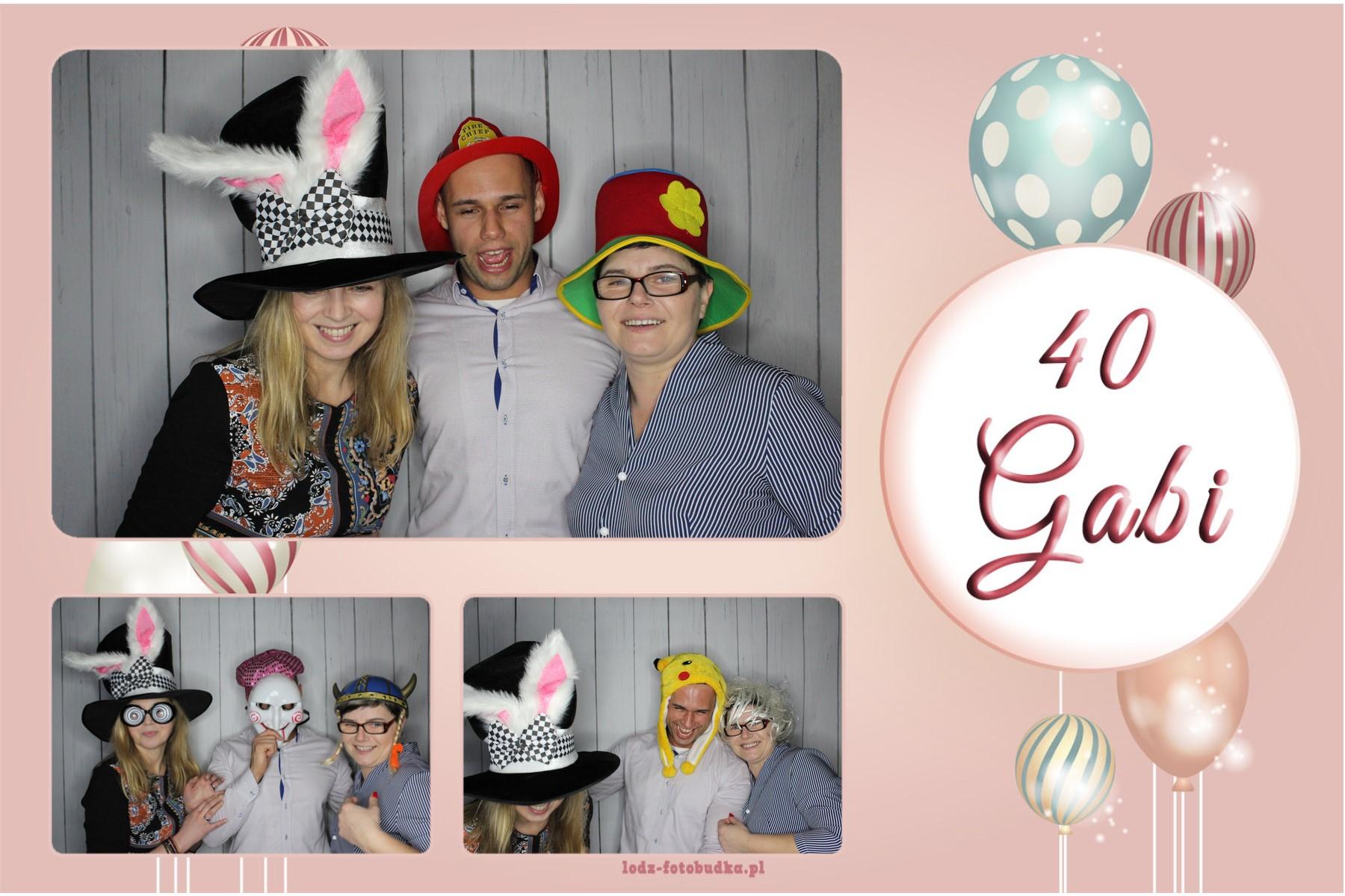 Impreza urodzinowa z fotobudką